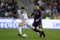 FOOTBALL - FRIENDLY GAME - FRANCE v SPAIN - 03/03/2010  - PHOTO JEAN MARIE HERVIO / DPPI - CESC FABREGAS (SPA)