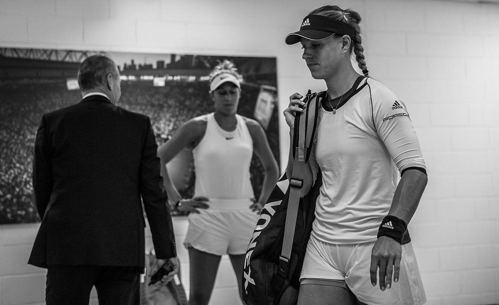Angelique Kerber of Germany on day ten of the 2018 Australian Open in Melbourne Australia on Wednesday January 24, 2018.<br /> (Ben Solomon/Tennis Australia)