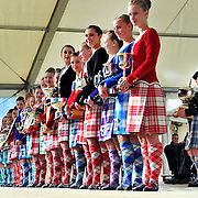 The Cowal Highland Games from Dunoon Stadium in Argyll.  Picture  Robert Perry  The Scotsman 27th August  2010