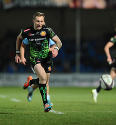 Exeter Chiefs' Byron McGuigan   - Photo mandatory by-line: Joe Meredith/JMP - Mobile: 07966 386802 - 24/01/2015 - SPORT - Rugby - Exeter - Sandy Park Stadium - Exeter Chiefs v Bayonne - Challenge Cup Round 6