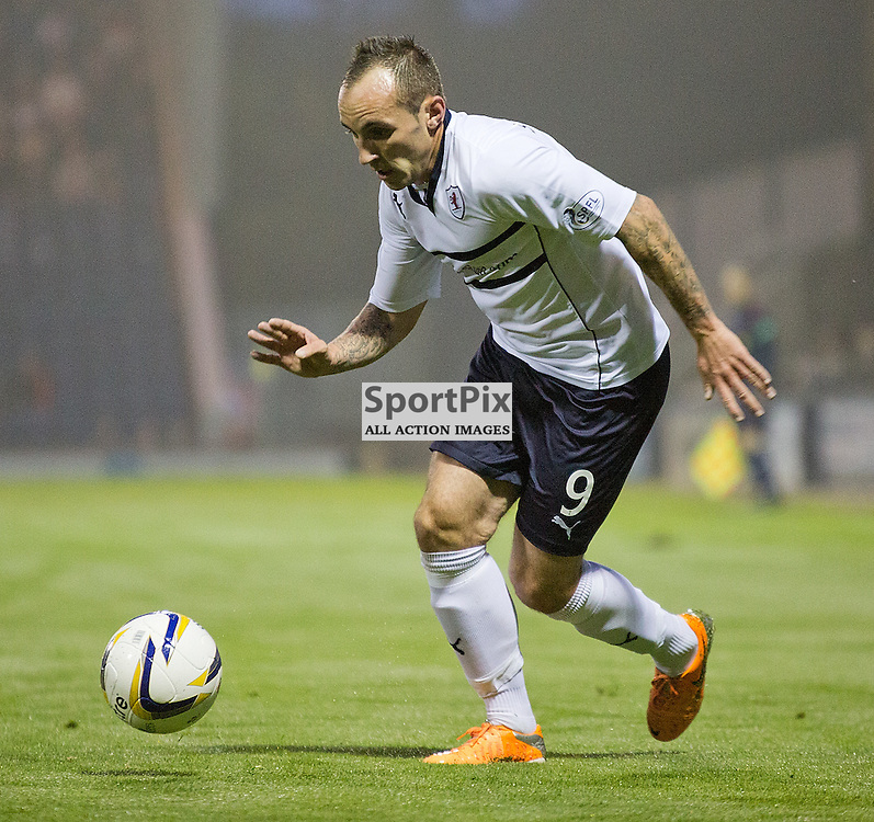 Raith Rovers v Rangers Scottish Championship 12 September 2014; Raith Rovers Mark Stewart during the Raith Rovers v Rangers Scottish Championship match played at Stark's Park, Kirkcaldy;