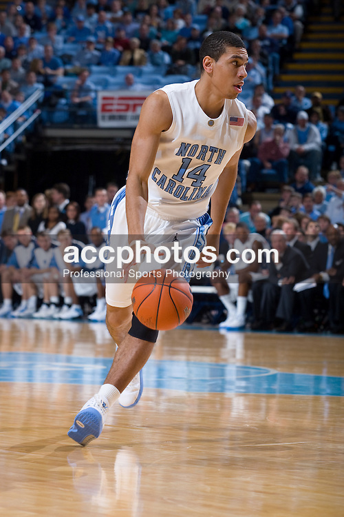 02 January 2008: North Carolina Tar Heels forward Danny Green (14) during a 90-61 win over the Kent State Golden Flashes at the Dean Smith Center in Chapel Hill, NC.