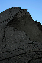 SPAIN GIJON 3OCT08 - Stockpiles of coal unloaded from bulk carriers in the port of Gijon, northern Spain.....jre/Photo by Jiri Rezac....© Jiri Rezac 2008....Contact: +44 (0) 7050 110 417..Mobile:  +44 (0) 7801 337 683..Office:  +44 (0) 20 8968 9635....Email:   jiri@jirirezac.com..Web:    www.jirirezac.com....All images © Jiri Rezac 2008. All rights reserved.