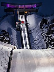 16.03.2019, Vikersundbakken, Vikersund, NOR, FIS Weltcup Skisprung, Raw Air, Vikersund, Teambewerb, im Bild Ryoyu Kobayashi (JPN) // Ryoyu Kobayashi of Japan during the team competition of the 4th Stage of the Raw Air Series of FIS Ski Jumping World Cup at the Vikersundbakken in Vikersund, Norway on 2019/03/16. EXPA Pictures © 2019, PhotoCredit: EXPA/ JFK