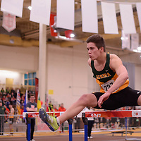 Bryden Trakalo in action during the 2018 Canada West Track & Field Championship on February  23 at James Daly Fieldhouse. Credit: Arthur Ward/Arthur Images
