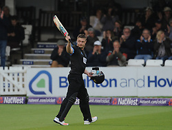 Sussex's Luke Wright walks off after being dismissed.  - Mandatory by-line: Alex Davidson/JMP - 01/06/2016 - CRICKET - The 1st Central County Ground - Hove, United Kingdom - Sussex v Somerset - NatWest T20 Blast