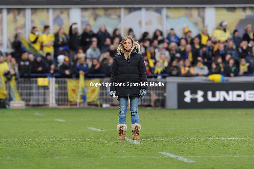 Clementine SARLAT - 25.01.2015 -  Clermont / Saracens - European Champions Cup <br />