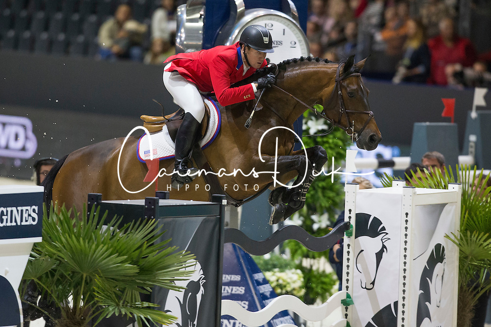 Ward Mclain (USA) - HH Carlos Z<br /> Longines FEI World Cup&trade; Jumping Final 2013/2014<br /> Lyon 2014<br /> &copy; Dirk Caremans