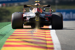 August 31, 2019, Spa, Belgium: Red Bull's British driver Alexander Albon pictured during the free trial sessions ahead of the Spa-Francorchamps Formula One Grand Prix of Belgium race, in Spa-Francorchamps, Saturday 31 August 2019. (Credit Image: © Benoit Doppagne/Belga via ZUMA Press)