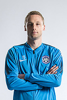 **EXCLUSIVE**Portrait of German soccer player Felix Bastians of Tianjin TEDA F.C. for the 2018 Chinese Football Association Super League, in Tianjin, China, 28 February 2018.