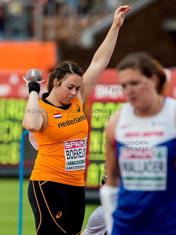 06-07-2016 NED: European Athletics Championships, Amsterdam<br /> Melissa Boekelman NED