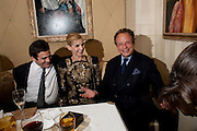 Clotilde, Princess of Venice and Piedmont; Jonathan Becke, Graydon Carter hosts a dinner to celebrate the reopening og the American Bar at the Savoy.  Savoy Hotel, Strand. London. 28 October 2010. -DO NOT ARCHIVE-© Copyright Photograph by Dafydd Jones. 248 Clapham Rd. London SW9 0PZ. Tel 0207 820 0771. www.dafjones.com.