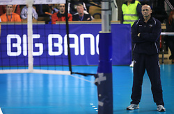 Coach of ACH Volley Canadian Glenn Hoag at volleyball match of CEV Indesit Champions League Men 2008/2009 between ACH Volley Bled (SLO) and Beauvais Oise (FRA), on December 11, 2008 in Hala Tivoli, Ljubljana, Slovenia. (Photo by Vid Ponikvar / Sportida)