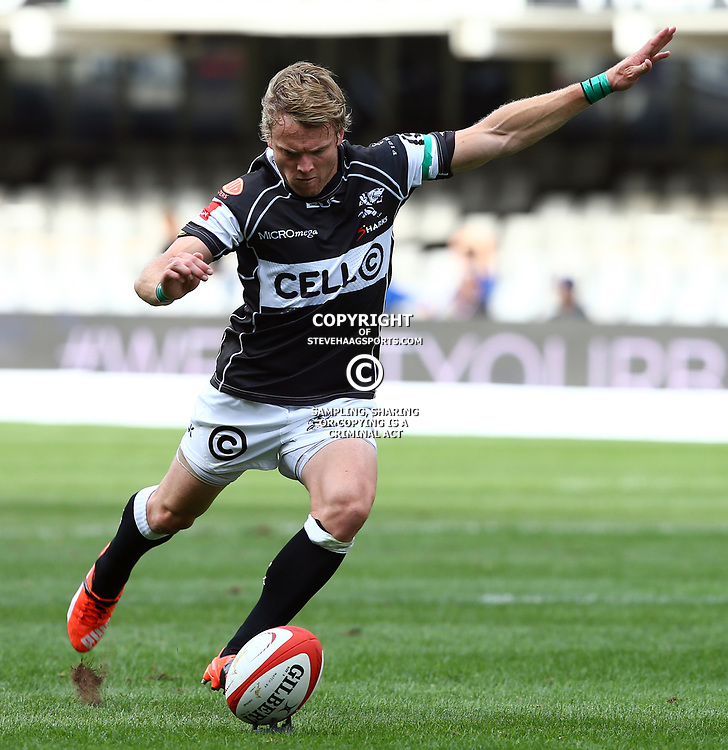 DURBAN, SOUTH AFRICA - SEPTEMBER 05: Joe Pietersen of the Cell C Sharks during the Absa Currie Cup match between Cell C Sharks and Steval Pumas at Growthpoint Kings Park on September 05, 2015 in Durban, South Africa. (Photo by Steve Haag/Gallo Images)