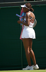 LONDON, ENGLAND - Tuesday, June 29, 2010: Venus Williams (USA) during the Ladies' Singles Quarter-Final match on day eight of the Wimbledon Lawn Tennis Championships at the All England Lawn Tennis and Croquet Club. (Pic by David Rawcliffe/Propaganda)