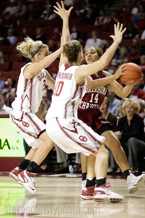 OC Women's Basketball at Oklahoma (Exhibition).November 6, 2007.110-51 loss