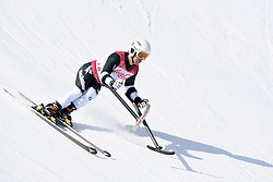 HALL Adam LW1 NZL competing in the Para Alpine Skiing Downhill at the PyeongChang2018 Winter Paralympic Games, South Korea