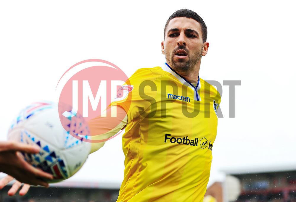 Liam Sercombe of Bristol Roverstakes the ball from a ball boy - Mandatory by-line: Matt McNulty/JMP - 27/04/2019 - FOOTBALL - Highbury Stadium - Fleetwood, England - Fleetwood Town v Bristol Rovers - Sky Bet League One