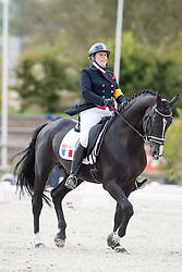 Bizet Nathalie, (FRA), Odate FJ<br /> Grade IV Team Test<br /> Para-Dressage FEI European Championships Deauville 2015<br /> © Hippo Foto - Jon Stroud<br /> 18/09/15