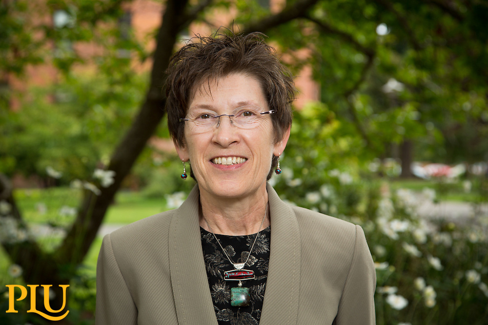 Sheila Smith, Dean of Nursing at PLU on Wednesday, Aug. 20, 2014. (Photo/John Froschauer)