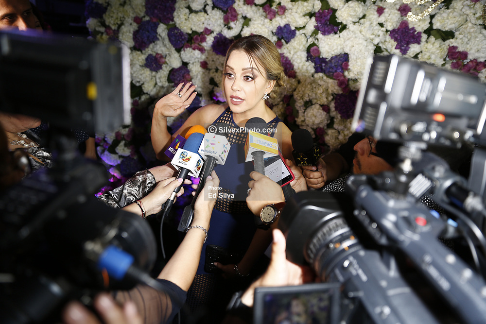 LOS ANGELES, CA - JUNE 27: Rosie Rivera  attends her sister's Chiquis Rivera birthday party at Don Chente Bar and Grill on Tuesday June 27, 2017, in downtown Los Angeles, California. Byline, credit, TV usage, web usage or linkback must read SILVEXPHOTO.COM. Failure to byline correctly will incur double the agreed fee. Tel: +1 714 504 6870.