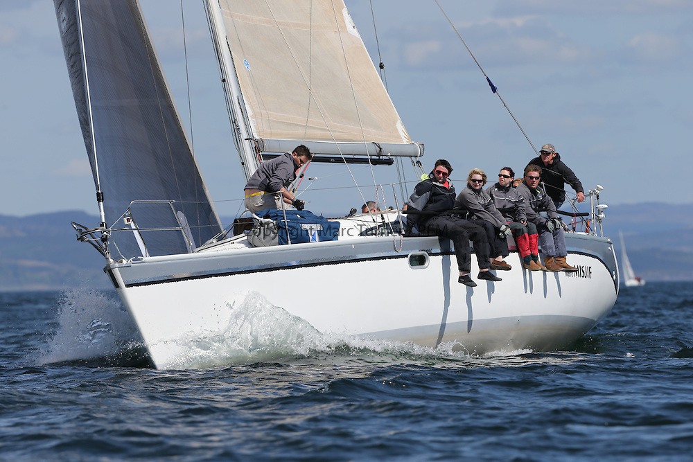The Clyde Cruising Club's Scottish Series held on Loch Fyne by Tarbert. Day 2 racing in a perfect southerly..GBR5030C, More Misjif, R. Angus/ A Tear, CCC/ FYC Sunfast 37