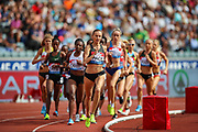 Women's 3000m during the Muller Grand Prix 2018 at Alexander Stadium, Birmingham, United Kingdom on 18 August 2018. Picture by Toyin Oshodi.