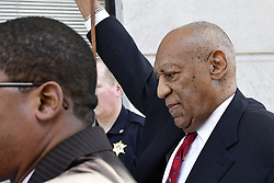 April 26, 2018 - Norristown, Pennsylvania, U.S. - Bill Cosby departs on bail after being found guilty on all three accounts of sexual assault, at Montgomery County Court House. After the first trial last year resulted in a hung jury actor and entertainer Bill Cosby is found guilty on three counts of sexual assault. (Credit Image: © Bastiaan Slabbers/NurPhoto via ZUMA Press)
