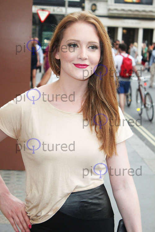 LONDON JULY 16: Olivia Hallinan at the Omega Summer Cocktail Party (Photo by Brett Cove)