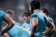 SYDNEY, AUSTRALIA - JUNE 08: Waratahs player Nick Phipps (9) with the team after another Brumbies try at week 17 of Super Rugby between NSW Waratahs and Brumbies on June 08, 2019 at Western Sydney Stadium in NSW, Australia. (Photo by Speed Media/Icon Sportswire)