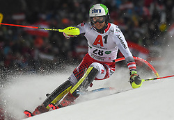 "29.01.2019, Planai, Schladming, AUT, FIS Weltcup Ski Alpin, Slalom, Herren, 1. Lauf, im Bild Marc Digruber (AUT) // Marc Digruber of Austria in action during his 1st run of men's Slalom ""the Nightrace"" of FIS ski alpine world cup at the Planai in Schladming, Austria on 2019/01/29. EXPA Pictures © 2019, PhotoCredit: EXPA/ Erich Spiess"