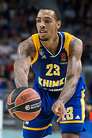 Khimki Moscow Malcolm Thomas during Turkish Airlines Euroleague match between Real Madrid and Khimki Moscow at Wizink Center in Madrid, Spain. November 02, 2017. (ALTERPHOTOS/Borja B.Hojas)