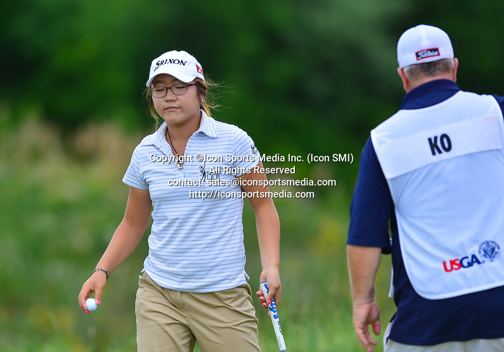 08 July 2012: Lydia Ko (New Zealand) during the final of the U.S. Women's Open Championship at Blackwolf Run in Kohler, Wisconsin
