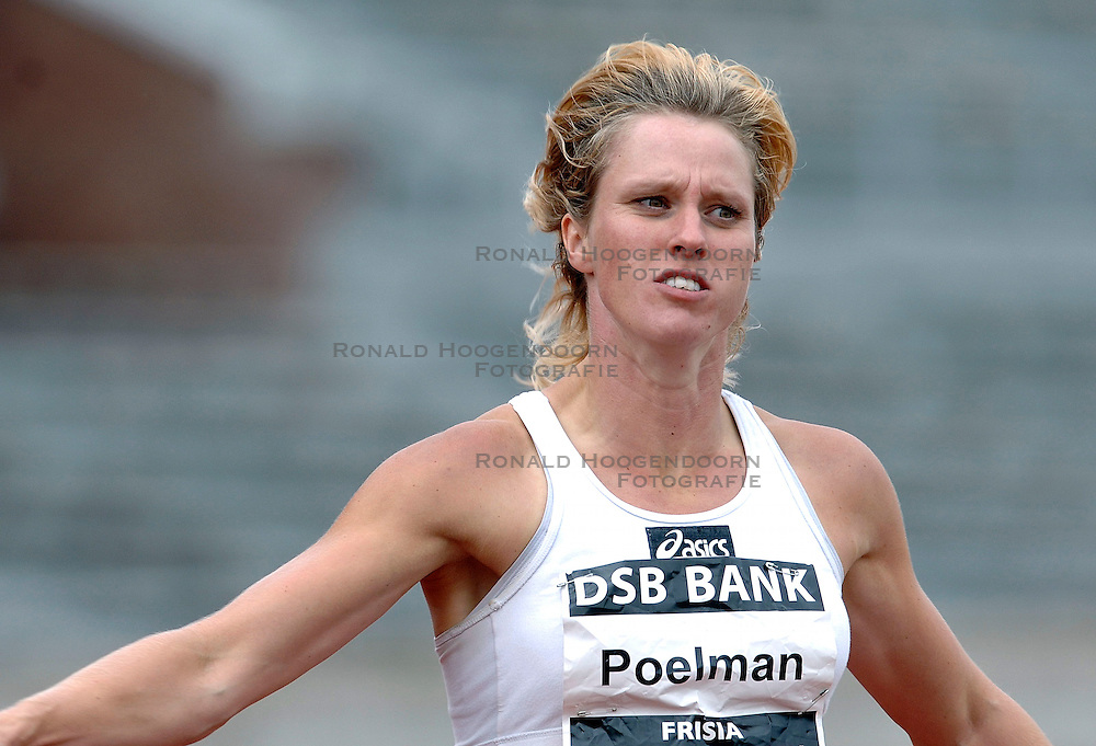 09-07-2006 ATLETIEK: NK BAAN: AMSTERDAM<br /> Jacqueline Poelman<br /> &copy;2006-WWW.FOTOHOOGENDOORN.NL