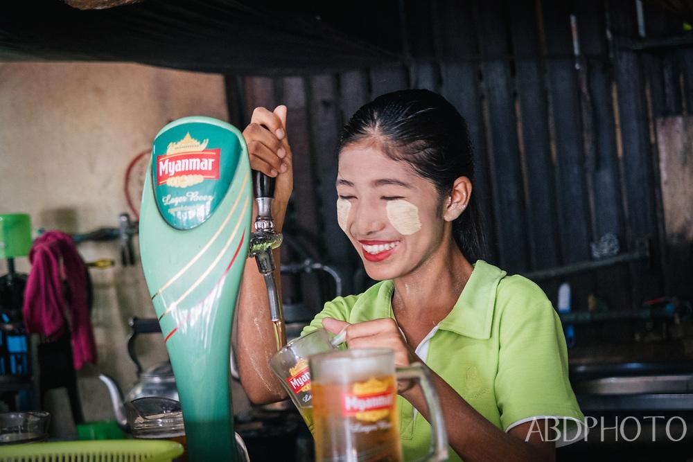 myanmar beer kawthaung burma girl