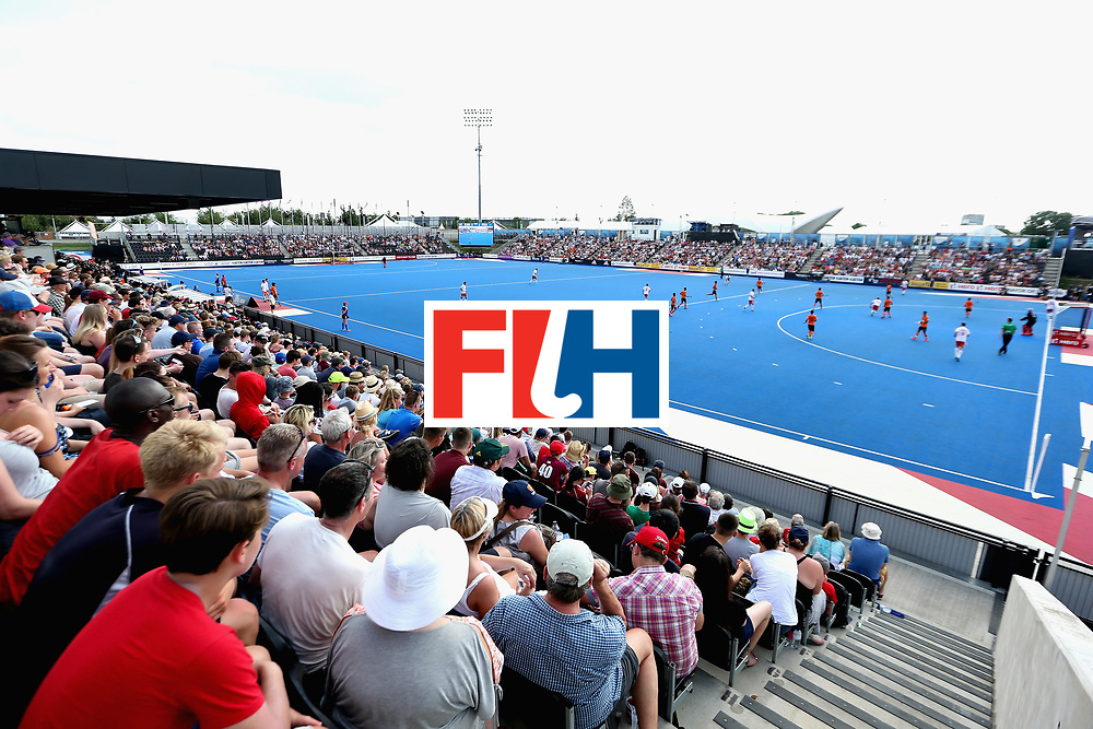 LONDON, ENGLAND - JUNE 17: A general view of the match during the Hero Hockey World League Semi Final match between England and Malaysia at Lee Valley Hockey and Tennis Centre on June 17, 2017 in London, England.  (Photo by Alex Morton/Getty Images)