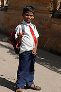 Schoolboy - India Rajasthan Udaipur 2011