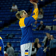 All - American Forward Elena Delle Donne (11) warms up prior to a regular season NCAA Women's basketball game against #9 Maryland Thursday, Dec. 20, 2012 at the Bob Carpenter Center in Newark Delaware.