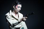 Daniela is a tough Geisha from the future