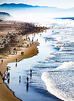 San Francisco, 20171014:  Reiser i San Francisco. Litt gatefoto og turist. Ocean Beach utenfor San Francisco.  FOTO:  TOM HANSEN