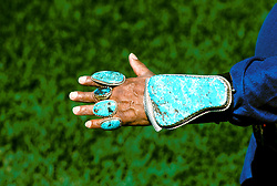 New Mexico: Native American, Navajo Indian, handicrafts, jewelry, turquoise and silver,  Photo: nmindi102.Photo copyright Lee Foster, www.fostertravel.com, 510/549-2202, lee@fostertravel.com