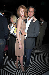 OLIVIA INGE and CHARLIE GILKES at a party following the Issa fashion show at the February 2009 Fashion Week held at Raffles, King's Road, London on 23rd February 2009.