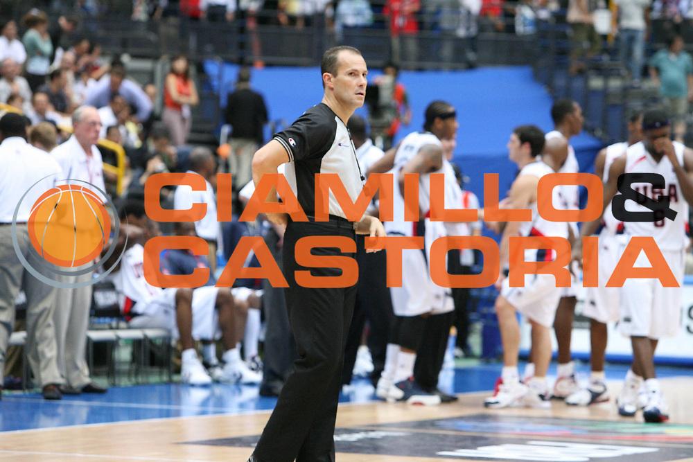 DESCRIZIONE : Saitama Giappone Japan Men World Championship 2006 Campionati Mondiali Usa-Germany <br /> GIOCATORE : Arbitro Referee Cerebuk <br /> SQUADRA : <br /> EVENTO : Saitama Giappone Japan Men World Championship 2006 Campionato Mondiale Usa-Germany <br /> GARA : Usa Germany Stati Uniti America Germania <br /> DATA : 30/08/2006 <br /> CATEGORIA : Ritratto <br /> SPORT : Pallacanestro <br /> AUTORE : Agenzia Ciamillo-Castoria/G.Ciamillo <br /> Galleria : Japan World Championship 2006<br /> Fotonotizia : Saitama Giappone Japan Men World Championship 2006 Campionati Mondiali Usa-Germany <br /> Predefinita :