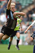 Twickenham, GREAT BRITAIN,  Quins, Charlie AMESBURY, dives over for a try during the sevens game Harlequins vs Sale Sharks at Twickenham Stadium, on Sat.18.08.2007 [Mandatory Credit. Peter Spurrier/Intersport Images].....