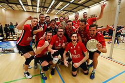 20180324 NED: Topdivisie Maatwerkers VCN - Next Volley Dordrecht, Capelle aan den IJssel <br />Maatwerkers VCN Kampioen Topdivisie 2017 - 2018 <br />©2018-FotoHoogendoorn.nl / Pim Waslander
