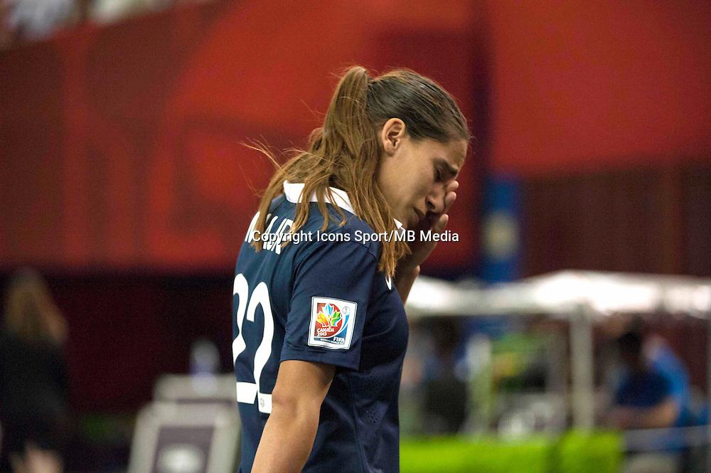 Deception France - Amel Majri - 26.06.2015 - Allemagne / France - 1/4Finale Coupe du Monde 2015 -Montreal<br />Photo : Catherine Legault / Icon Sport