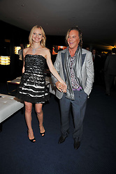 Mickey Rourke and  at the annual GQ Awards held at the Royal Opera House, Covent Garden, London on 8th September 2009.