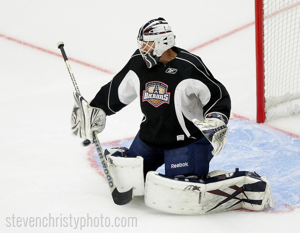 September 30, 2012: The Oklahoma City Barons hold day one of their 2012-13 American Hockey League training camp at the Cox Convention Center in Oklahoma City.