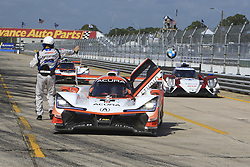 March 15, 2019 - Sebring, UNITED STATES OF AMERICA - 6 ACURA TEAM PENSKE (USA) ACURA DPI ACURA JUAN PABLO MONTOYA (COL) DANE CAMERON (USA) SIMON PAGENAUD  (Credit Image: © Panoramic via ZUMA Press)