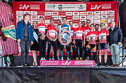 10.07.2019, Fuscher Törl, AUT, Ö-Tour, Österreich Radrundfahrt, Siegerehrung der Ö3-Wecker Glocknerchallenge, im Bild Oe3 Challenge Siegerehrung, Ben Hermans (Israel Cycling Academy, BEL) // Oe3 Challenge Siegerehrung, Ben Hermans (Israel Cycling Academy, BEL) during the winner ceremony for the Ö3 alarm clock Glockner Challenge on the occasion of the 2019 Tour of Austria. Fuscher Törl, Austria on 2019/07/10. EXPA Pictures © 2019, PhotoCredit: EXPA/ JFK